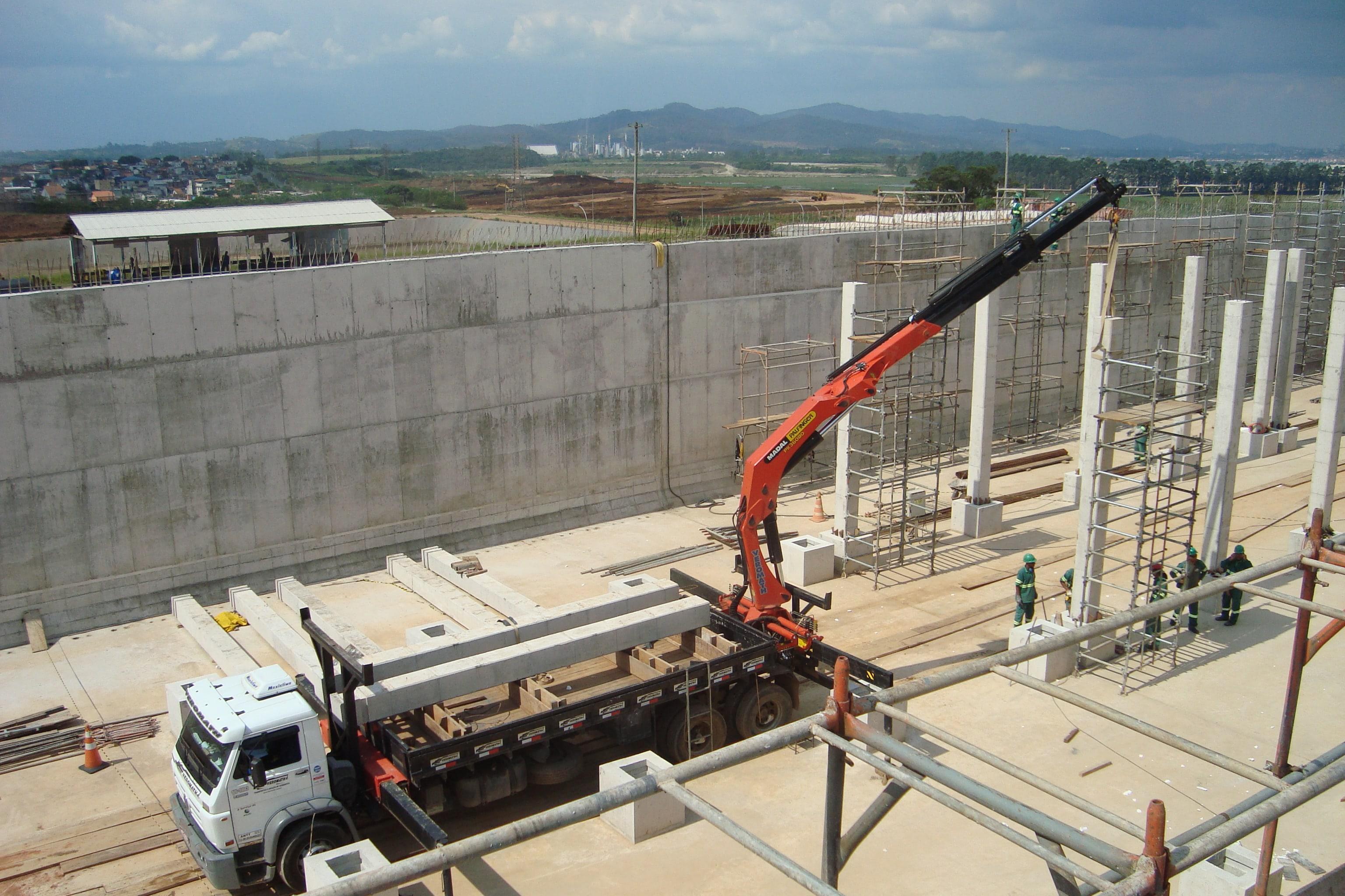 Guidaste Articulado Traseiro Palfinger para 32 toneladas métricas