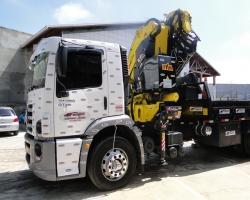 Guindaste articulado - capacidade 45 toneladas métricas - Munck
