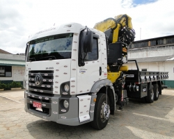 Guindaste Bi-articulado capacidade de 50 toneladas métricas - Munck