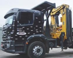 Caminhão Guindaste articulado - capacidade 55 toneladas métricas - Munck